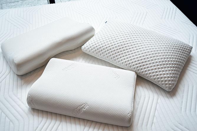GoodsPress2021年6月号より 大阪ショールームで聞いた自分に合うTEMPUR®枕の選び方